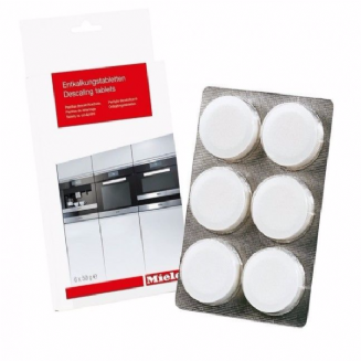 MIELE GPDCCX0061 T Descaling tablets, 6 tablets for coffee machines